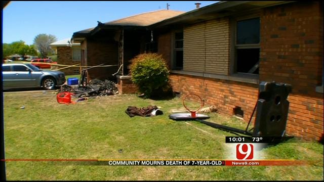 OKC Community Mourning Death Of 7-Year-Old Boy In House Fire