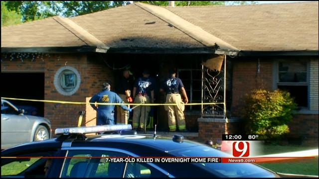 Home Burglarized Before Fatal Fire Started, Police Say