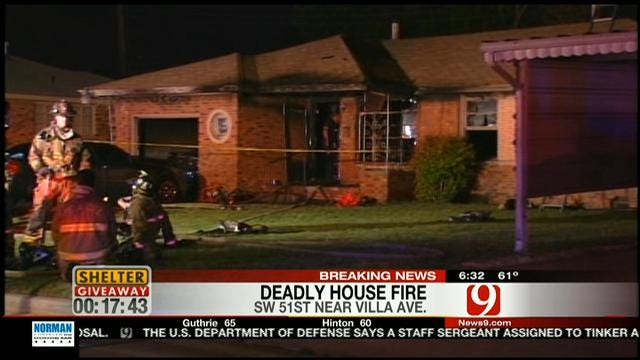 Boy Killed In SW OKC House Fire