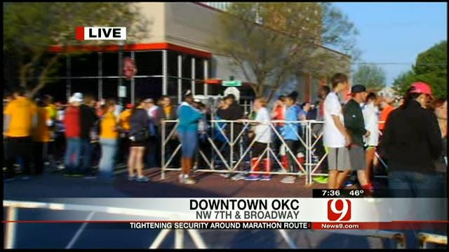 Police Presence Increased During OKC Memorial Run