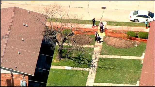 WEB EXTRA: SkyNews 9 Flies Over Fatal Shooting In SW OKC