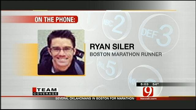 Ryan Siler, Oklahoma Runner In Boston, Talks About Bombings
