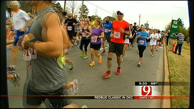 Wives Of Oklahoma Soldiers Kick Off Redbud Classic