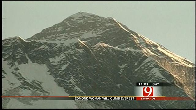 Edmond Woman Prepares To Climb Mount Everest