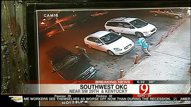 OKC Police Search For Men Involved In Hit-And-Run Crash