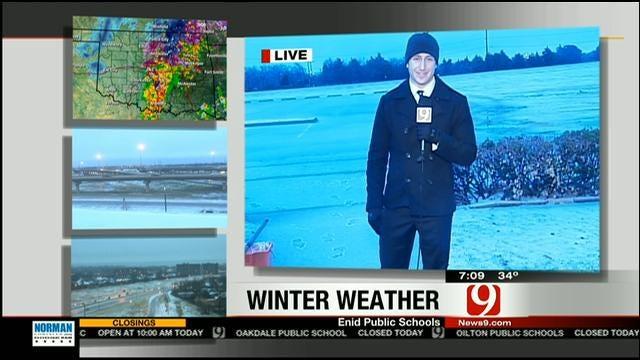 News 9's Nick Bender Steps Into The Slush