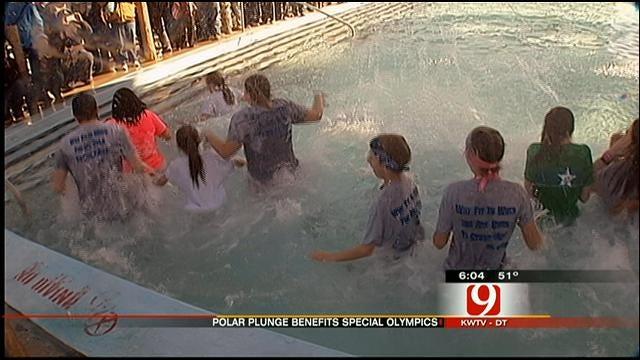 Oklahomans Take 'Polar Plunge' For A Good Cause
