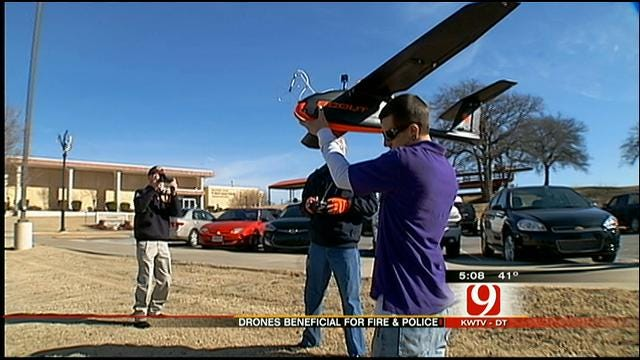 OK Firefighters, Law Enforcement Consider Use Of Drones