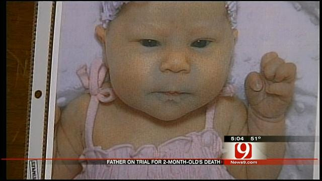 Jury Deliberating In Trial Of Chickasha Man Accused Of Killing Infant Daughter