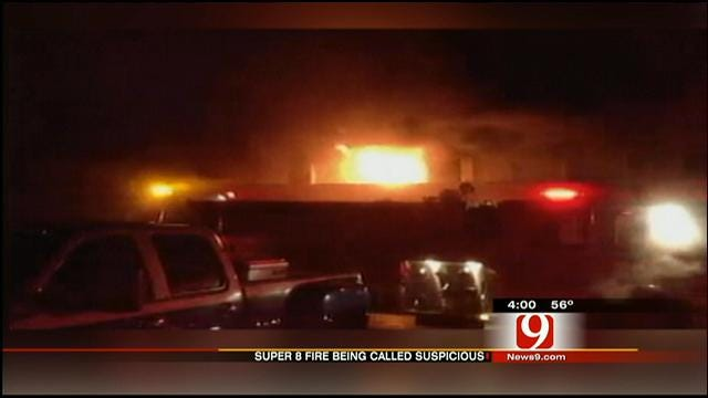 Guests Escape As Fire Sweeps Through NE OKC Motel