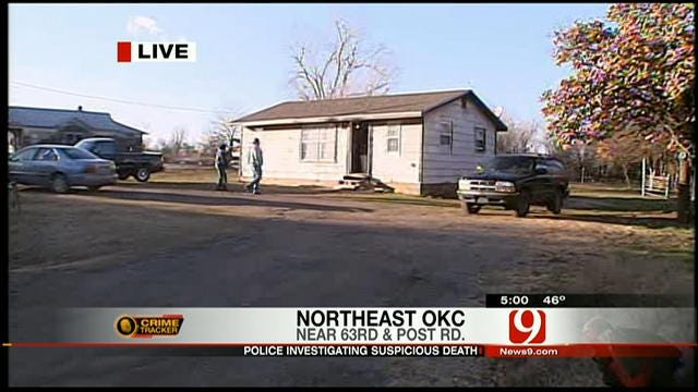 Police Investigate Suspicious Death In Northeast OKC