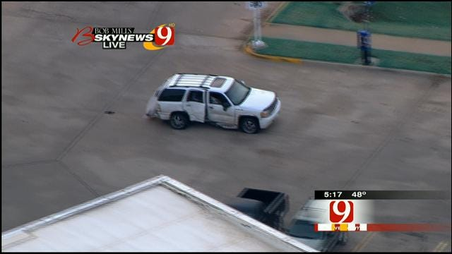 Bob Mills SkyNews 9 HD Flies Over High-Speed Chase In Del City