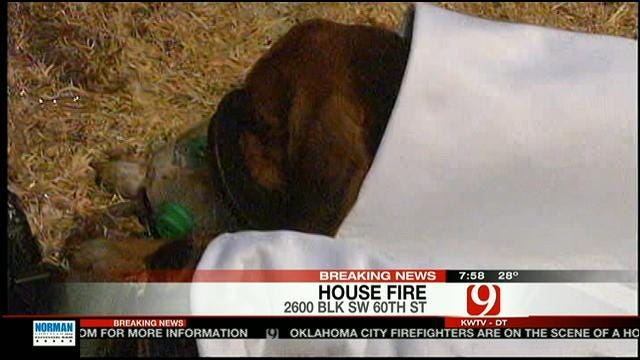 Firefighters Rescue People, Pets From SW OKC House Fire