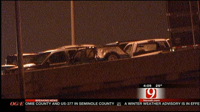 Westbound I-40 In OKC Reopens Following Multi-Vehicle Crash
