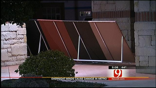 High Winds In Oklahoma Cause Widespread Damage