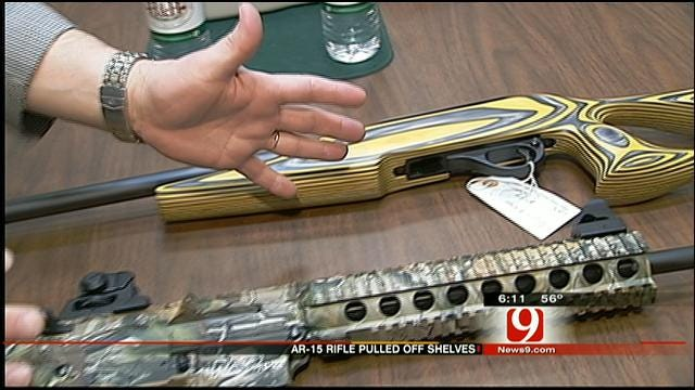 OKC Gun Owner Responds To Certain Guns Being Pulled From Store Shelves