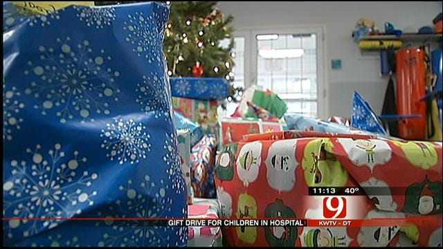 Generous Oklahomans Give Back To Children In Hospital