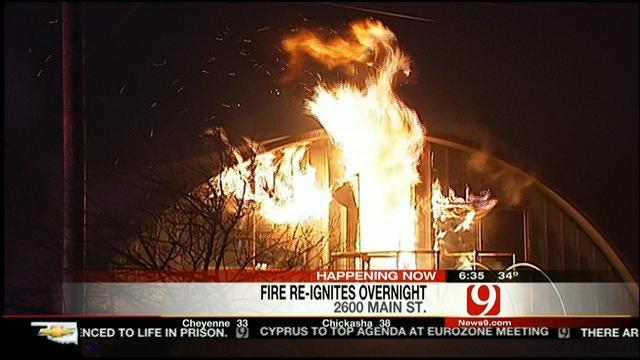Fire Destroys Unusual Home Near Downtown OKC