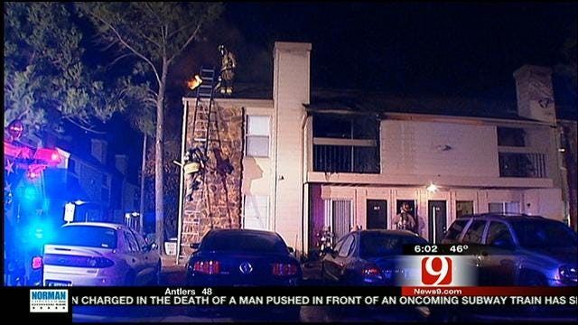 Two Units Damaged In Fire At Northwest OKC Apartment Complex