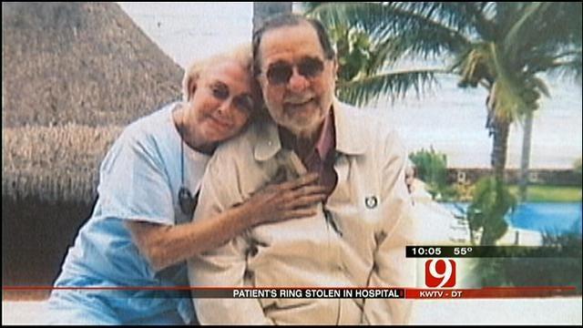 Wedding Ring Stolen Off Elderly Patient's Finger At St. Anthony Hospital