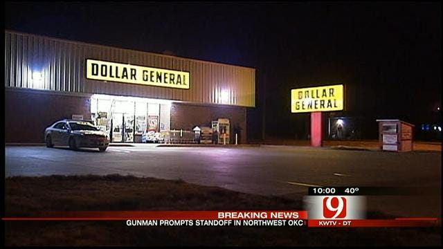 Lockdown Of NW OKC Stores Lifted After Gunman Found Dead