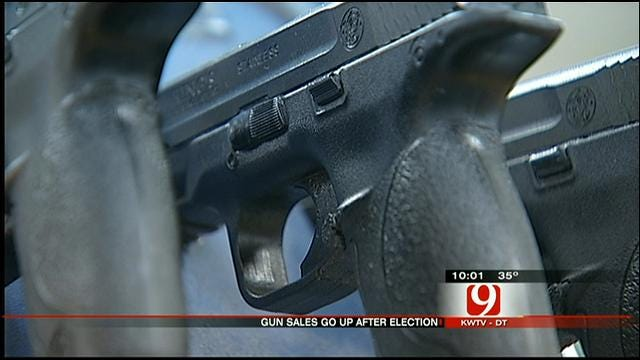 Gun Sales Surge In Oklahoma After President Obama's Re-election