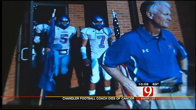 Vigil Held For Passing Of Chandler Football Coach