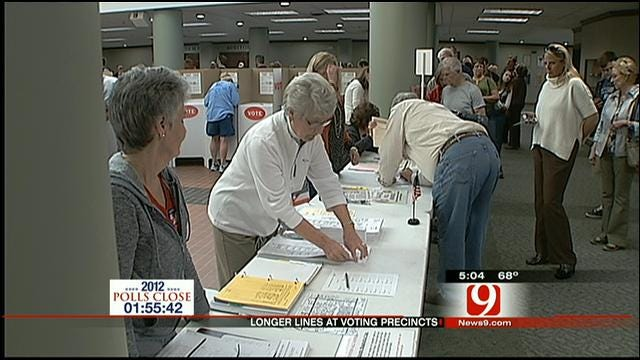 Thousands Line Up To Vote In Oklahoma