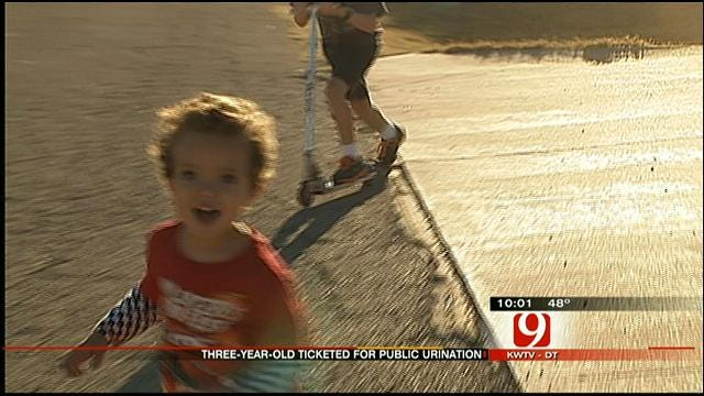 Piedmont Boy, 3, Gets $2,500 Ticket For Urinating In His Front Yard
