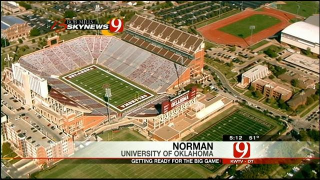 Oklahoma Fans Gearing Up For OU, Notre Dame Game Saturday Pt. 2