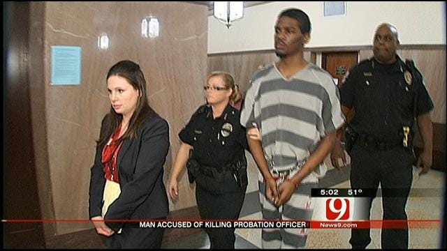 MWC Man Accused Of Killing Probation Officer Will Go To Trial