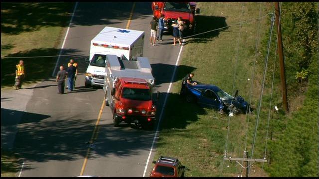 WEB EXTRA: SKYNews9 Flies Over School Bus Accident In SE OKC
