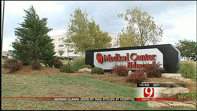 Patient Claims Edmond OU Medical Center Staff Stole From Her