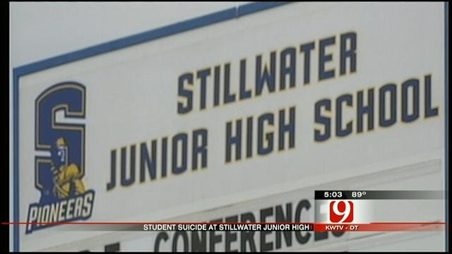 Community Reacts To Stillwater Junior High Student's Death