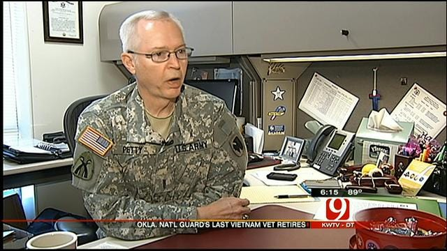 Oklahoma's Last Vietnam Veteran Retires From The National Guard