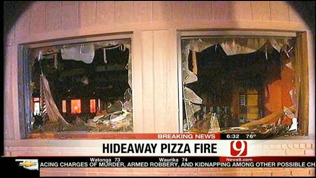 Fire Damages Popular Northwest OKC Pizza Place