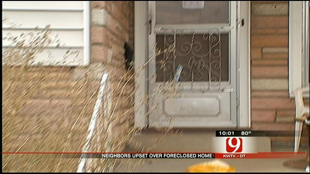 Neighbors: Vacant House In NW OKC Attracts Gang Activity