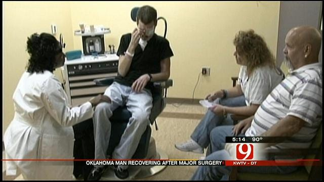 Oklahoma Man Injured By Fireworks Undergoes Reconstructive Surgery