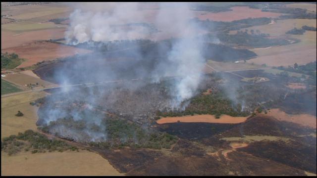 Large Grassfire Near Anadarko Contained