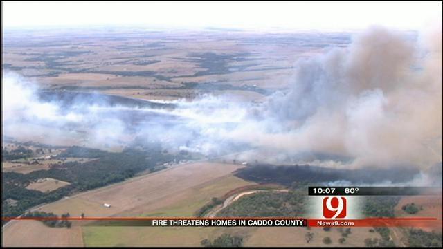 Large Grassfire Near Anadarko Under Investigation