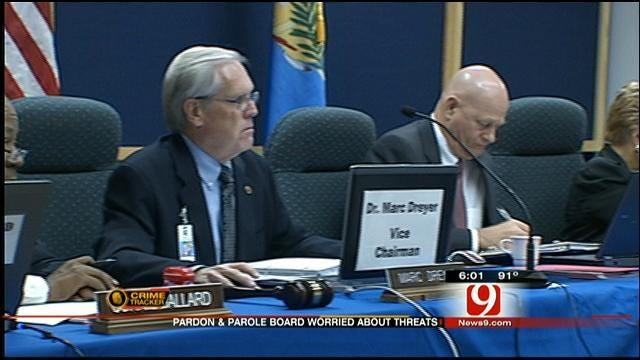 Oklahoma Pardon And Parole Board May Step Up Security Due To Threats