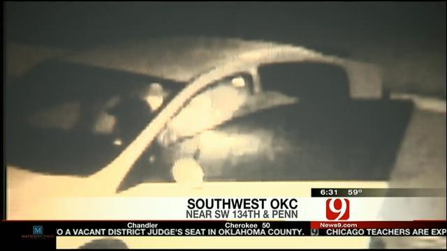 Car Break-In In Southwest OKC Caught On Camera