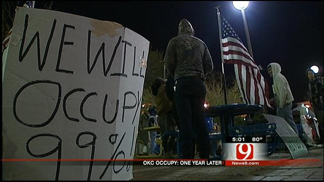 OKC Occupy Protestor Talks About Movement One Year Later