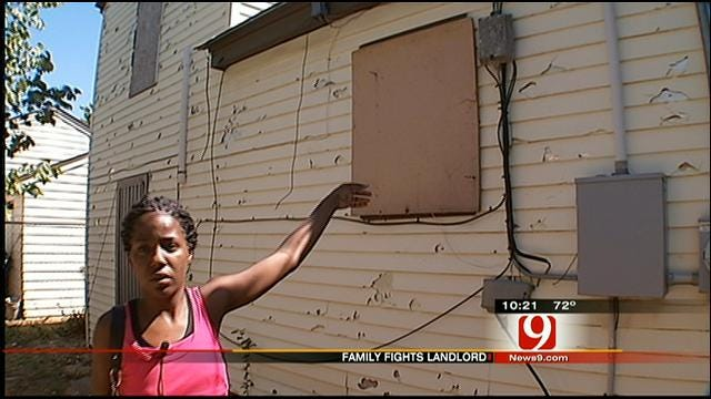 Mother Says OKC Home Not Ready After Paying Deposit, Rent