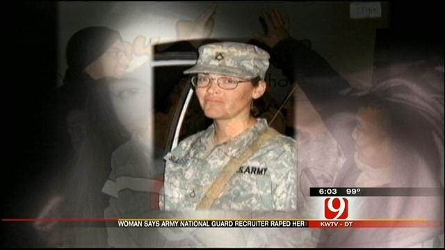 Woman Claims Norman Army Recruiter Raped Her, Got Her Pregnant