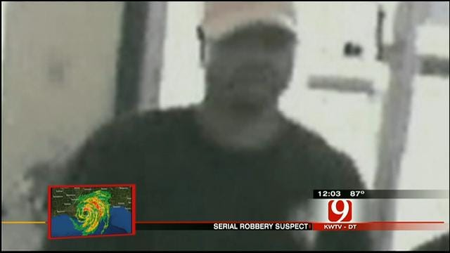 Serial Robber Targets Four Businesses In OKC