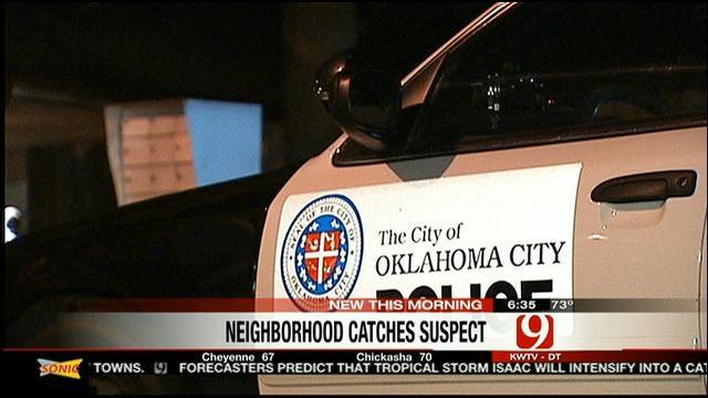 Good Samaritan Helps Catch Suspect In OKC High-Speed Chase