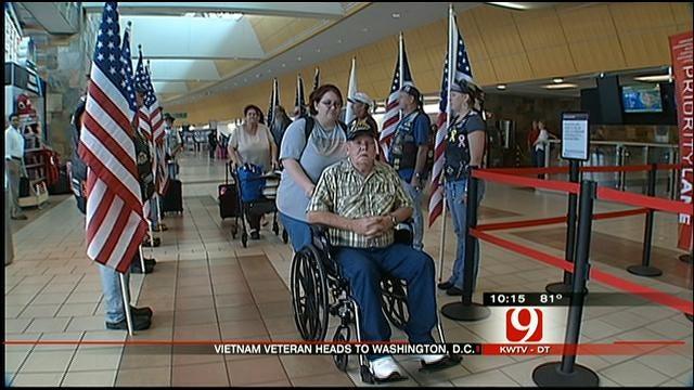 Vietnam Veteran's Dying Wish Granted