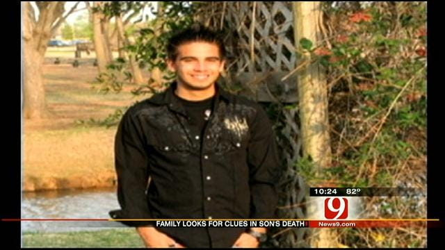 OKC Mother Looking For Answers In Son's Death