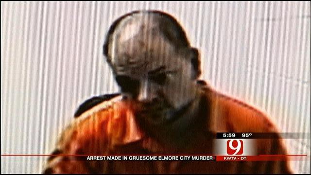 Elmore City Man Accused Of Murder Arraigned